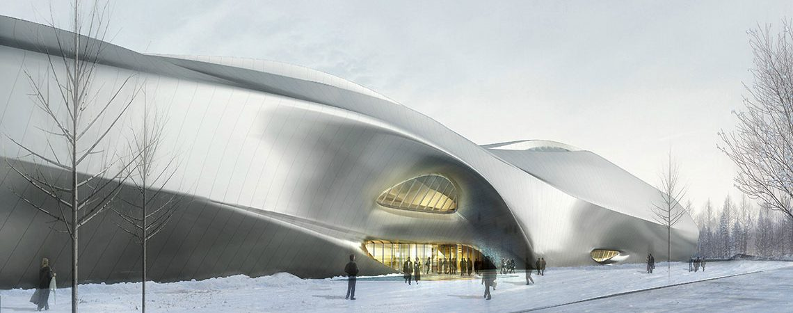 China Wood Sculpture Museum, Harbin | MAD Architects